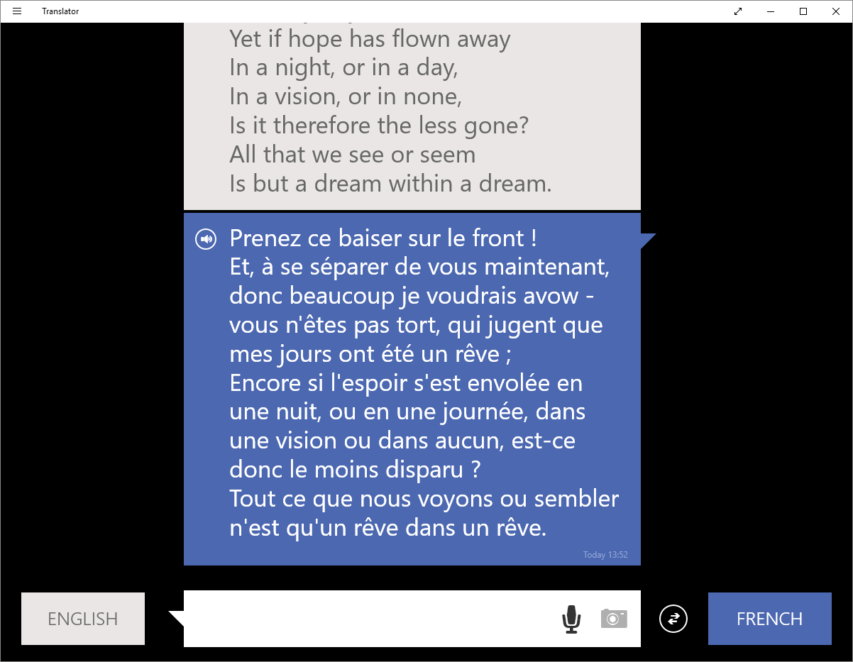 essayons and translate Many translated example sentences containing essayons ainsi – english-french dictionary and search engine for english translations.