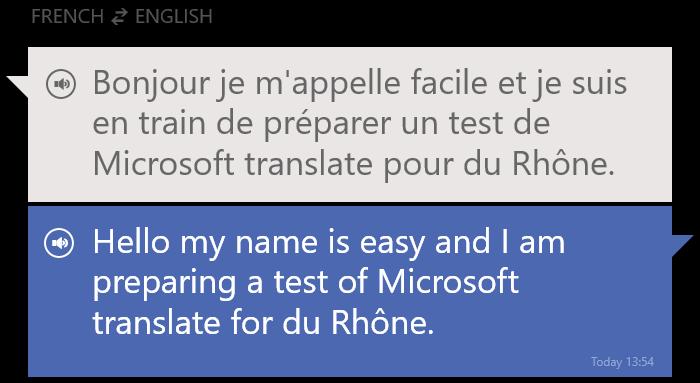 "Translator : ""Hello, my name is easy."" | Geekzone.fr"
