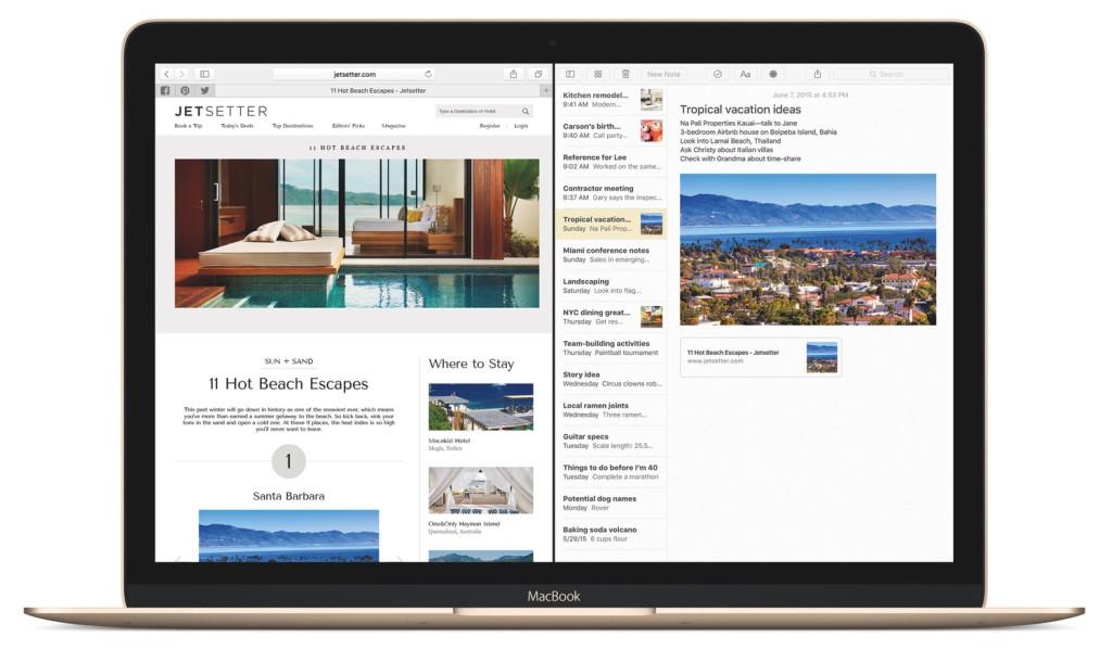 MacBook-ElCapitan-SafariNotes