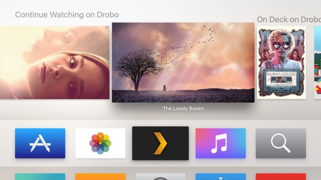 Plex Apple TV App