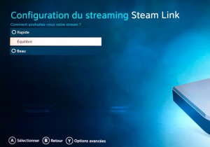 Steam Link Qualité Streaming