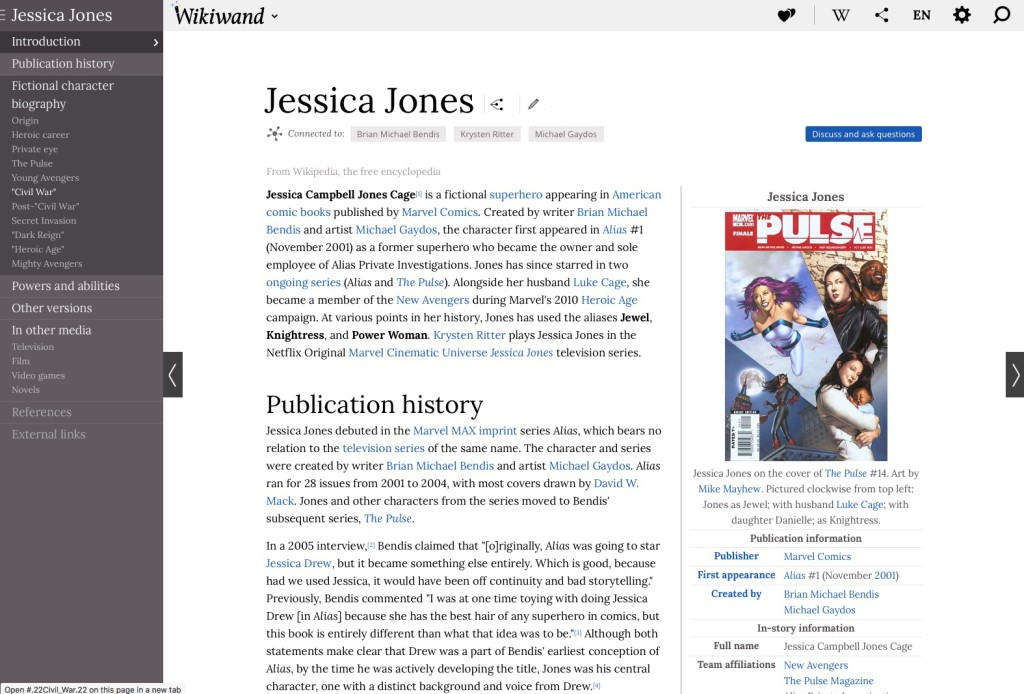 WikiWand Jessica Jones