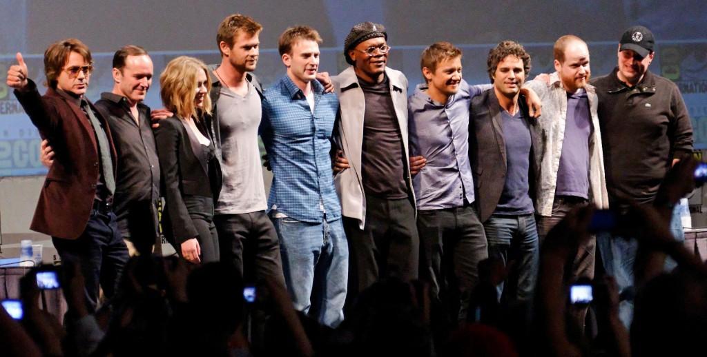 """La """"dream team"""" de The Avengers au grand complet."""