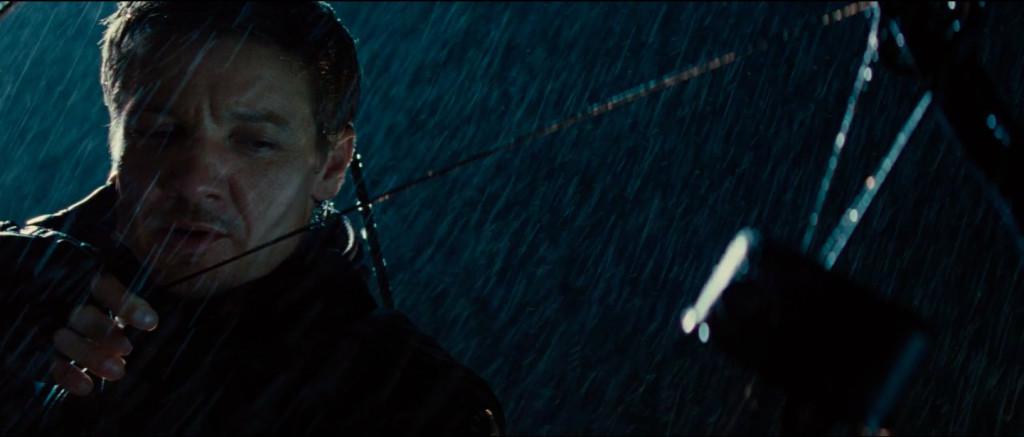 Hawkeye qui se la raconte, genre il va coucher Thor avec une flèche.