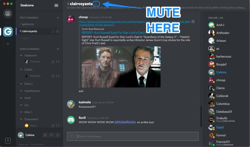 Discord Mute