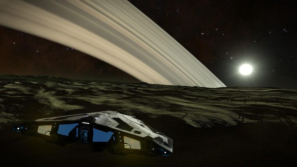 Elite 3 Terrestrial planet landing