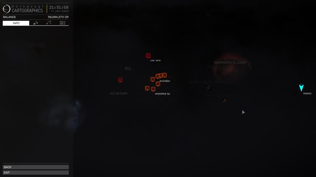 Elite - Shadow deliveries Robigo to Targets