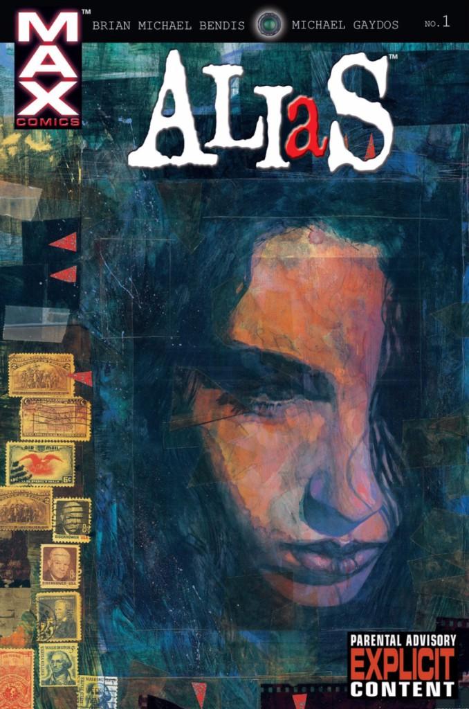 Jessica Jones - Couv Alias