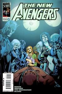 Jessica Jones - Couv New Avengers