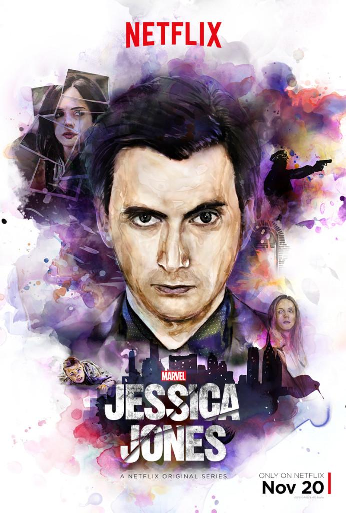 Jessica Jones - Poster Kilgrave