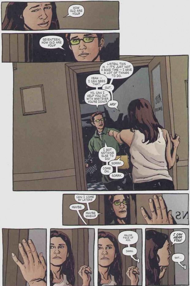 Jessica Jones -Malcolm dans la BD