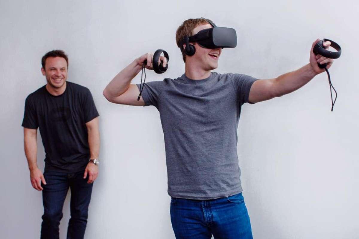 réalité virtuelle pour Mark Z.
