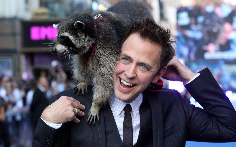 James Gunn, le réalisateur, manifestement très proche de ses acteurs.