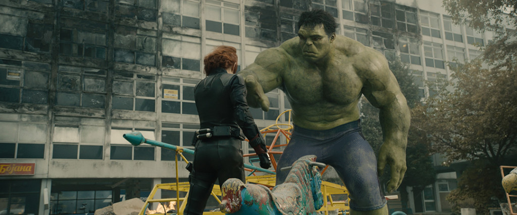 Black Widow & The Hulk
