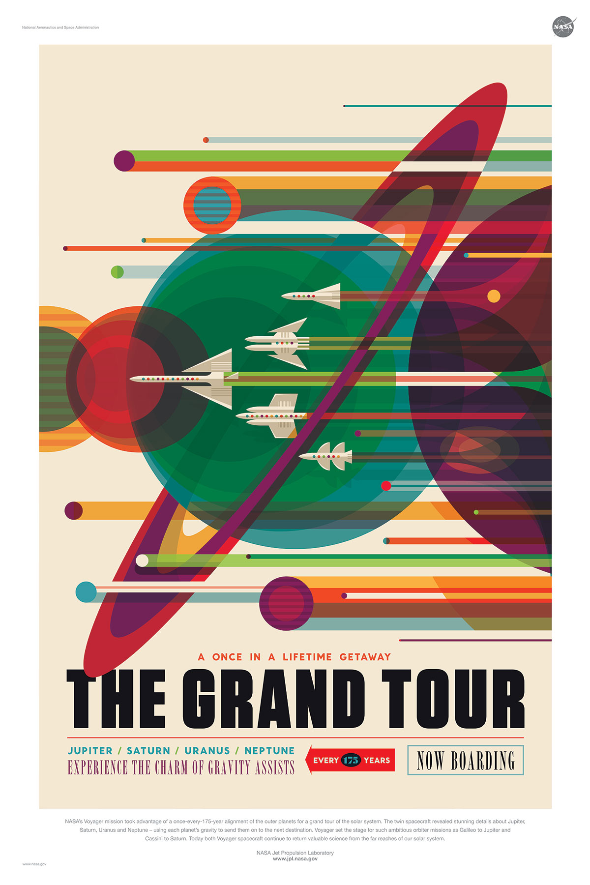 Nasa Poster - Grand Tour