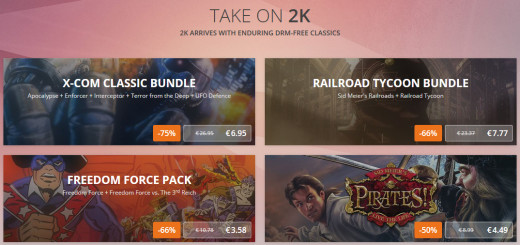 2K Games sur GOG