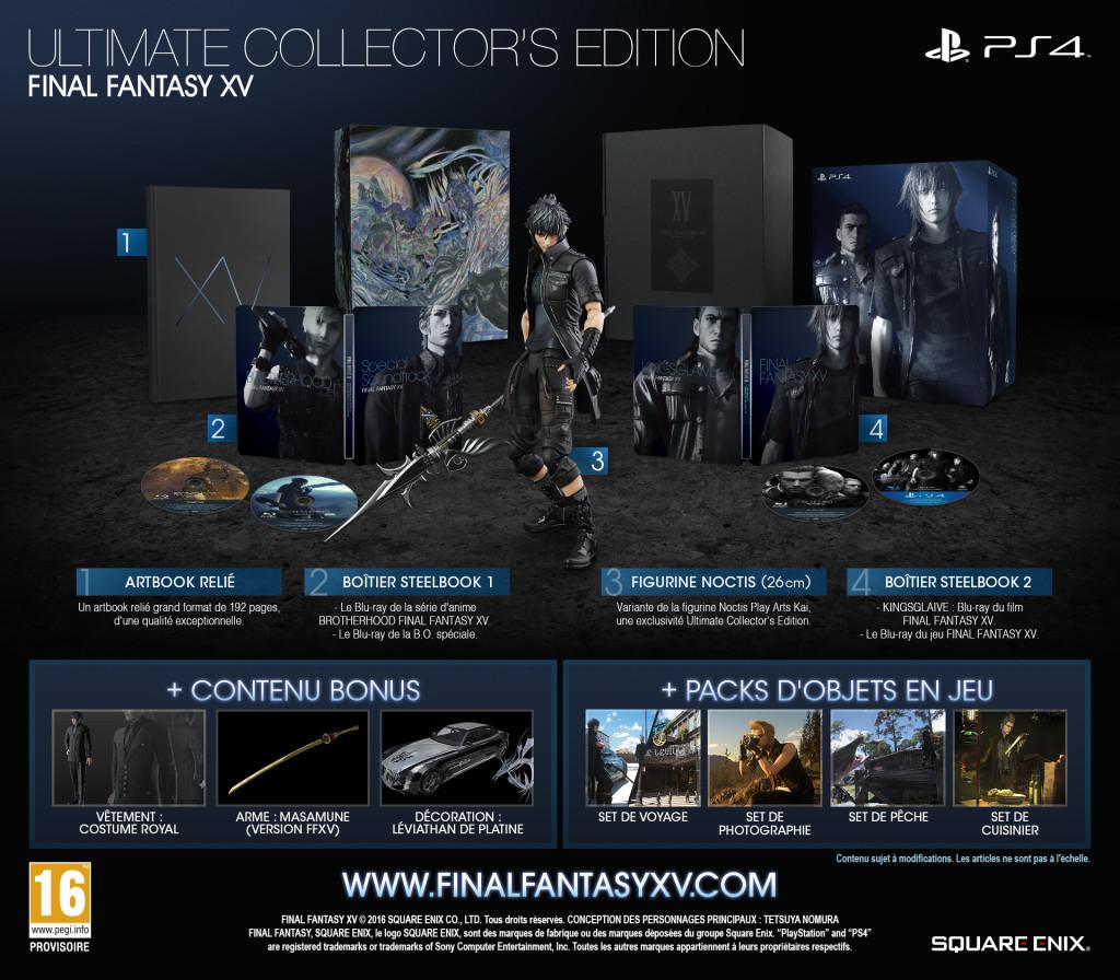 Final Fantasy XV Collector