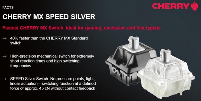 Cherry MX Speed Silver 2
