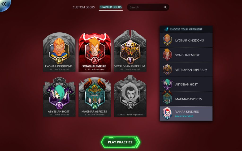 Duelyst Factions