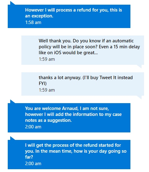 MS Store Chat 2