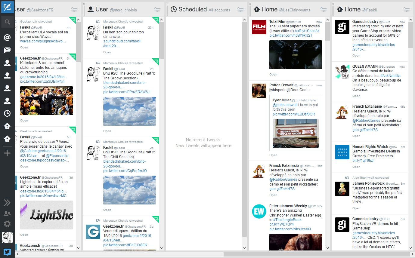Tweetdeck (web)