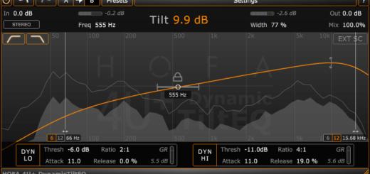 HOFA Plugins 4U DynamicTiltEQ