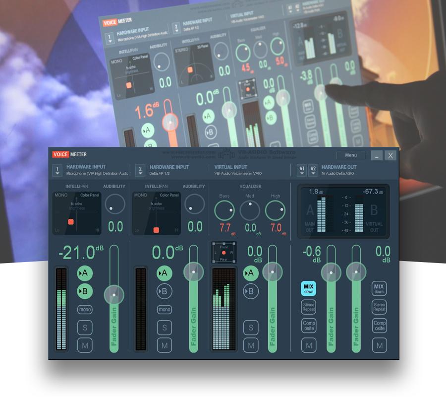 Voicemeeter le mixer virtuel pour mieux g rer vos - Table de mixage virtuel gratuit en francais ...