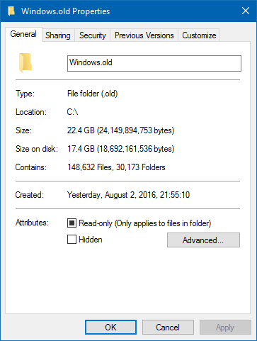 Windows.old 1
