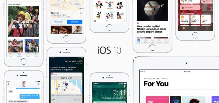 iOS 10 Banner