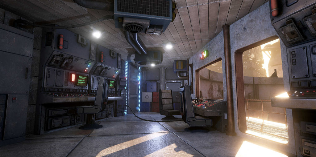 Mos Esley (Unreal Engine 4)