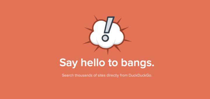 DuckDuckGo Bangs Banner