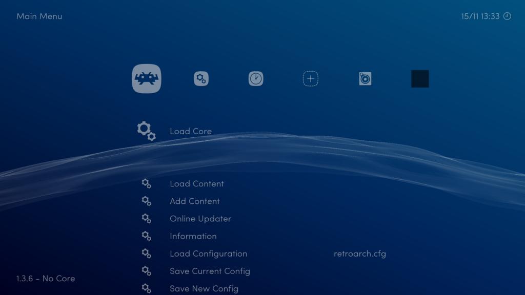 RetroArch (UI)
