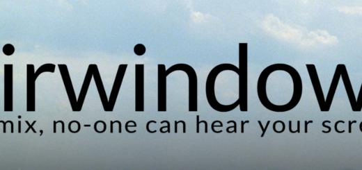 Airwindows (header)