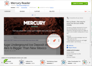 Mercury Reader Store