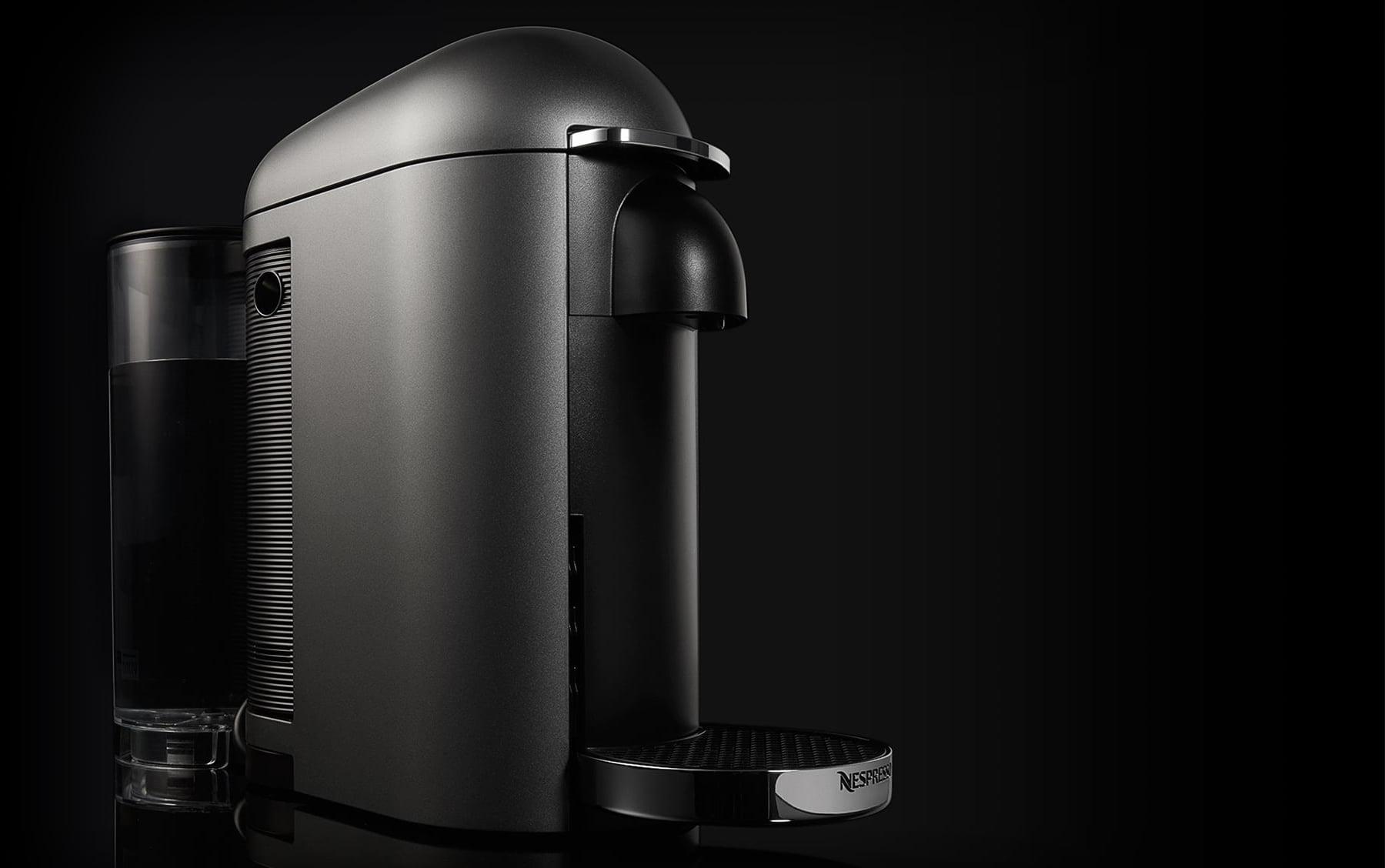 test de la nespresso vertuo le go t du risque. Black Bedroom Furniture Sets. Home Design Ideas