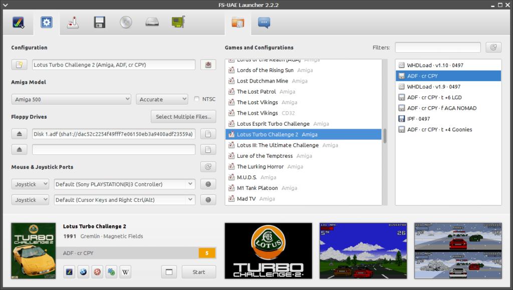 FS-UAE - Amiga Emulator