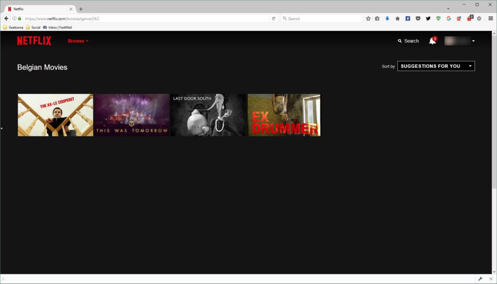 Netflix (Belgian Movies)