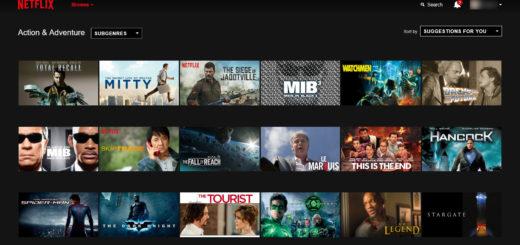 Netflix (catégories)