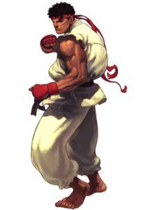 Ryu Third Strike Artwork