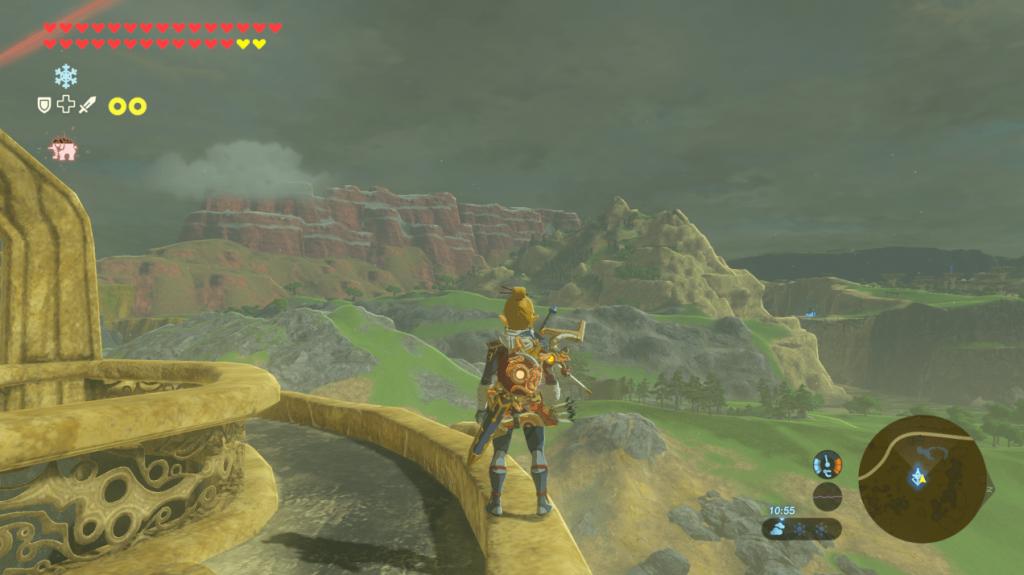 Zelda BotW Cemu Landscape 1