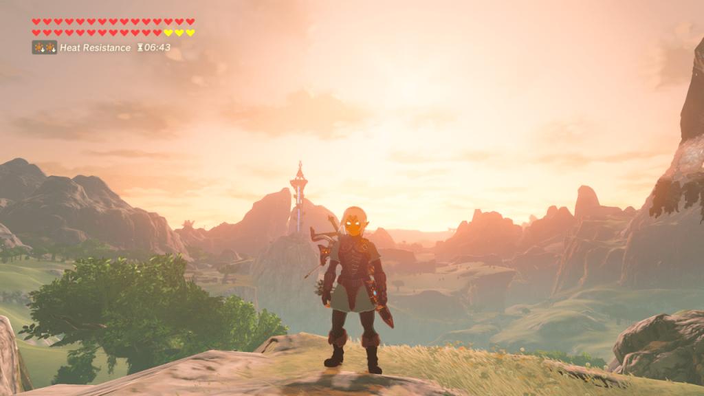Zelda BotW Cemu Landscape 2