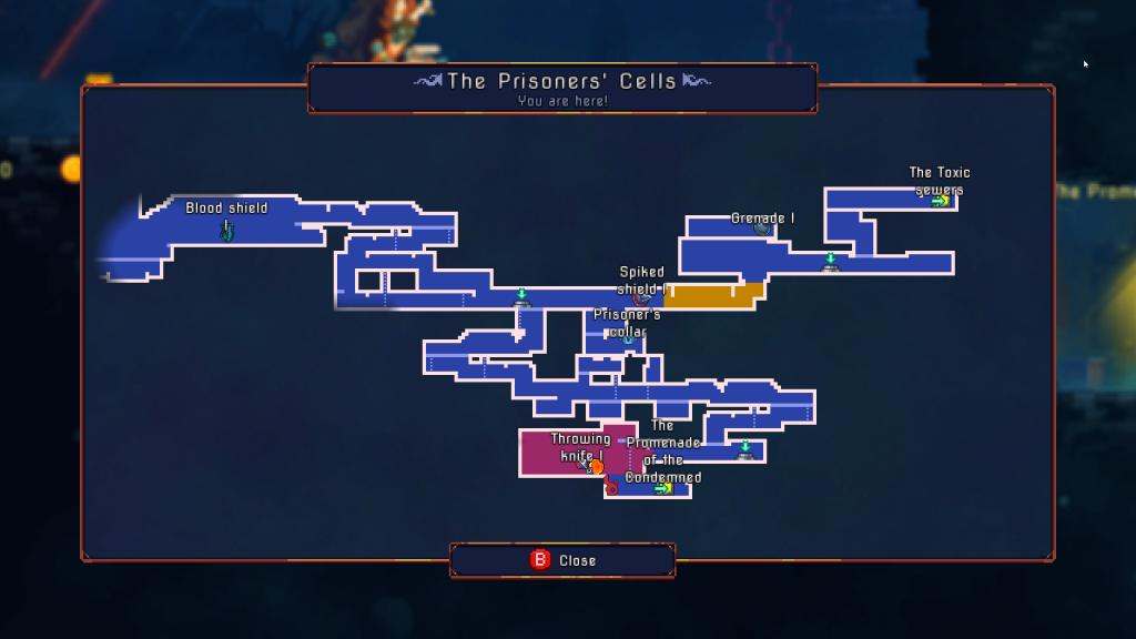 Dead Cells Map