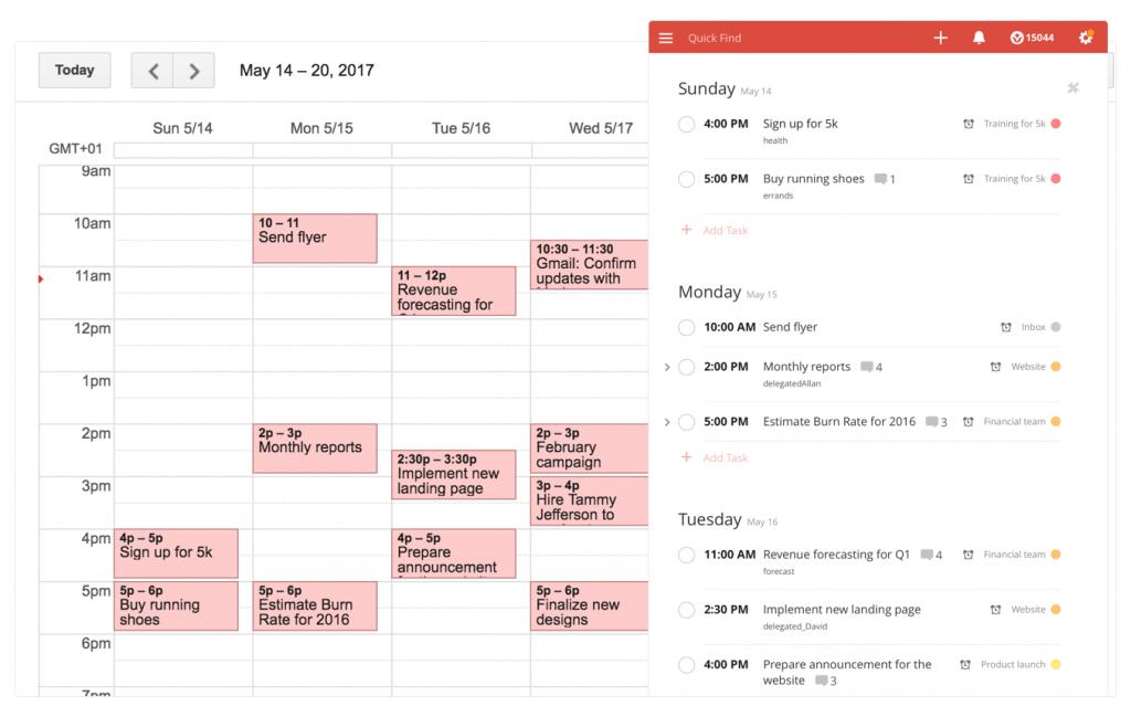 Todoist Google Calendar 1
