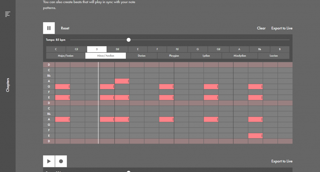 Ableton Learning Music