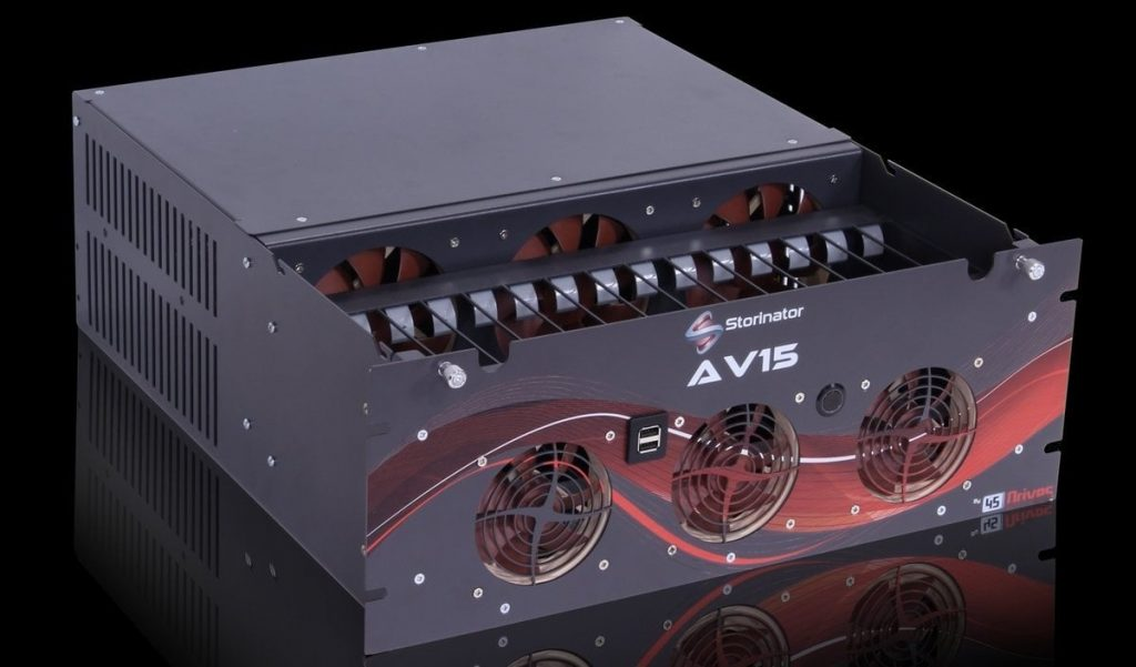 Storinator AV15 NAS