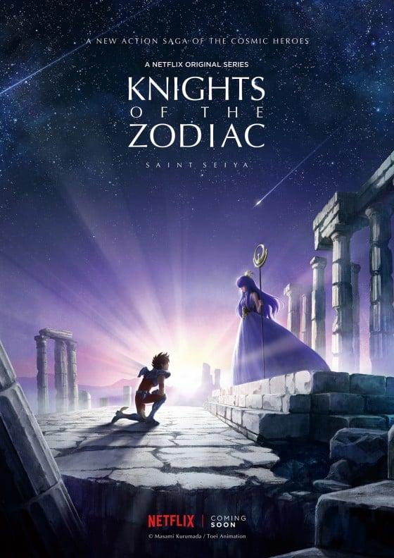 Chevaliers du Zodiac Netflix