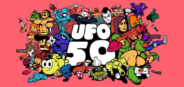 UFO 50 Banner