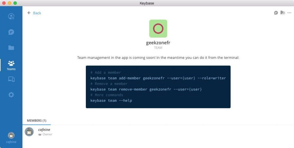 Keybase GUI