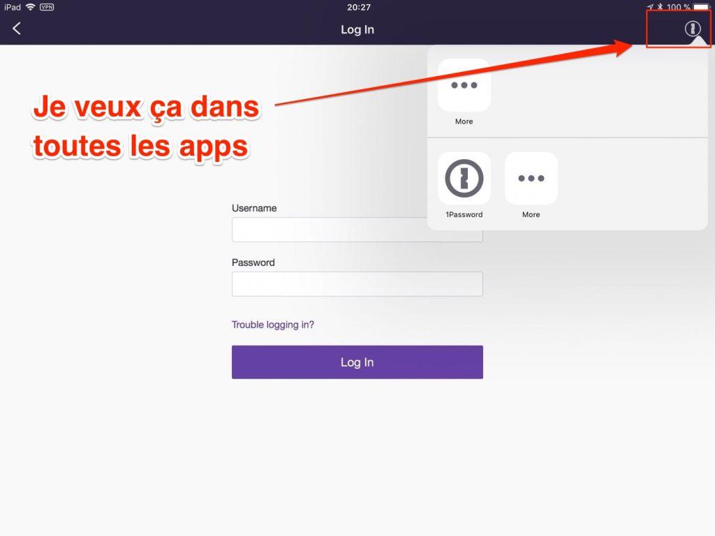1Password 7 iOS - Twitch