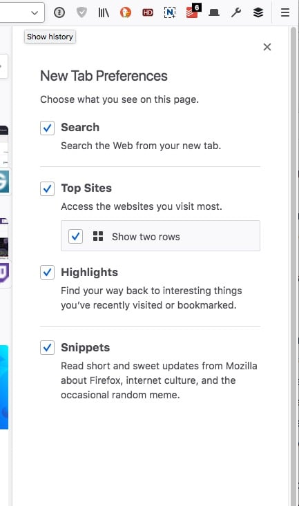 Firefox 57 Tabs Stuff